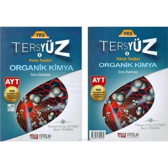 Nitelik Yayınları AYT Organik Kimya Tersyüz Soru Bankası
