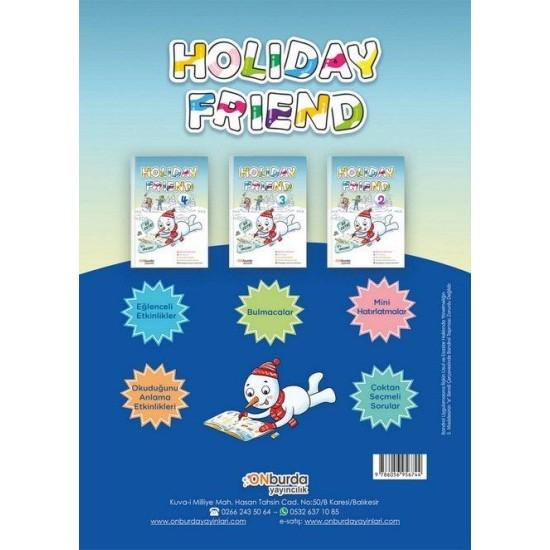 ON Burda Yayıncılık 4. Sınıf Holiday Friend Tatil Kitabı