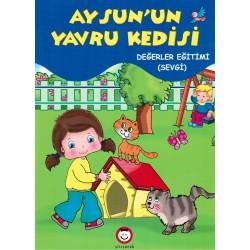 Şiir Çocuk Okul Öncesi Aysun'un Yavru Kedisi Hikaye Kitabı
