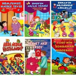 Şiir Çocuk Okul Öncesi Değerler Eğitimi Hikaye Seti 10 Kitap - 1