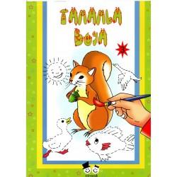Şiir Çocuk Okul Öncesi Tamamla Boya Boyama Kitabı - 3