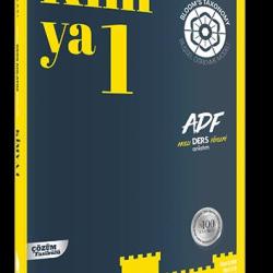 Soru Kalesi Kimya-1 ADF TYT Ders Anlatım Föyleri
