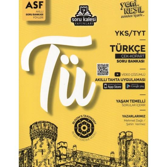 Soru Kalesi TYT Türkçe Akıllı Soru Bankası Föyleri