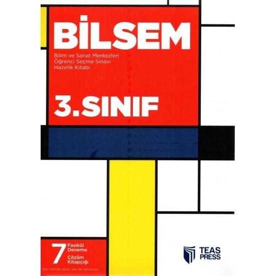 Teas Press 3. Sınıf Bilsem Bilim ve Sanat Merkezleri Öğrenci Seçme Sınavı Hazırlık Kitabı