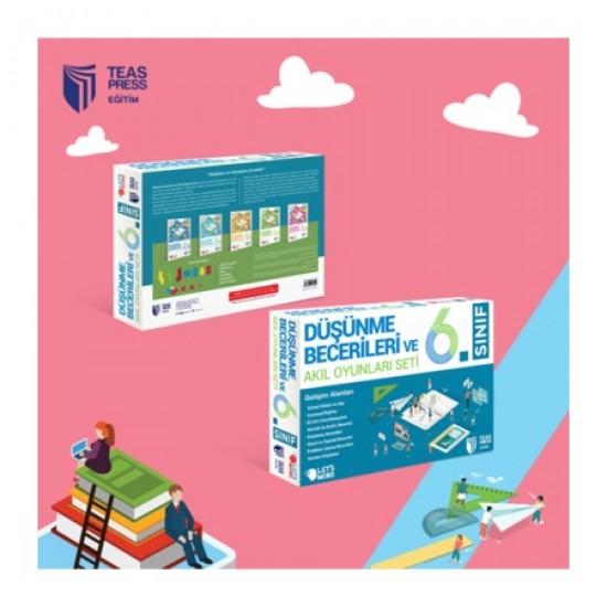 Teas Press Yayınları 6. Sınıf Düşünme Beceileri Ve Akıl Oyunları Seti