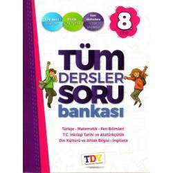 Tüm Dersler Yayınları 8. Sınıf Tüm Dersler Soru Bankası