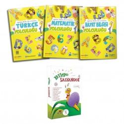 Üçgen 1.Sınıf 2.Dönem Seti+1.Sınıf Hikaye Kitabı Bilge Salyangoz 10 Kitap 5 Renk